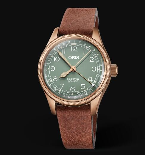 Oris Aviation Big Crown Bronze Pointer Date 36MM Replica Watch 01 754 7749 3167-07 5 17 69GBR